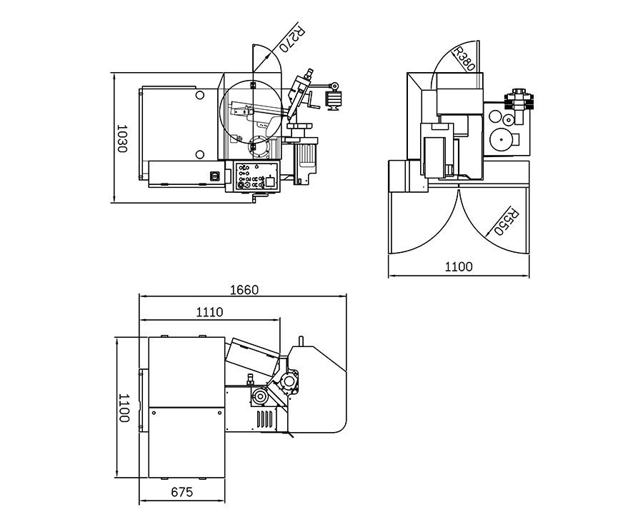 CBN Automatic Chamfering Machine KSC-600